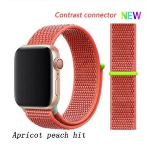 ❤️NEW Peach Hit Sport Loop Strap For Apple Watch